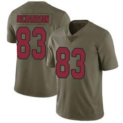 A.J. Richardson Arizona Cardinals Men's Limited Salute to Service Nike Jersey - Green