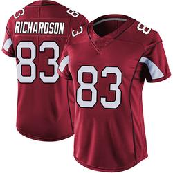 A.J. Richardson Arizona Cardinals Women's Limited Vapor Team Color Untouchable Nike Jersey - Red