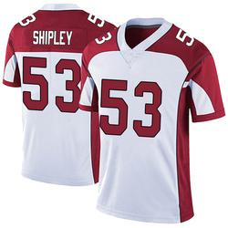 A.Q. Shipley Arizona Cardinals Men's Limited Vapor Untouchable Nike Jersey - White