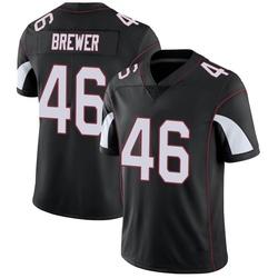 Aaron Brewer Arizona Cardinals Men's Limited Vapor Untouchable Nike Jersey - Black