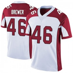 Aaron Brewer Arizona Cardinals Youth Limited Vapor Untouchable Nike Jersey - White
