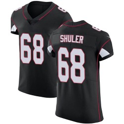 Adam Shuler Arizona Cardinals Men's Elite Alternate Vapor Untouchable Nike Jersey - Black