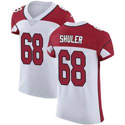Adam Shuler Arizona Cardinals Men's Elite Vapor Untouchable Nike Jersey - White