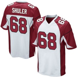 Adam Shuler Arizona Cardinals Men's Game Nike Jersey - White