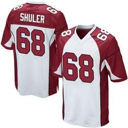 Adam Shuler Arizona Cardinals Youth Game Nike Jersey - White