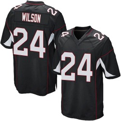 Adrian Wilson Arizona Cardinals Men's Game Alternate Nike Jersey - Black
