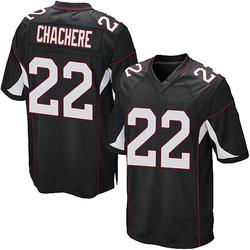 Andre Chachere Arizona Cardinals Men's Game Alternate Nike Jersey - Black