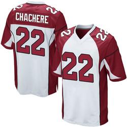 Andre Chachere Arizona Cardinals Men's Game Nike Jersey - White