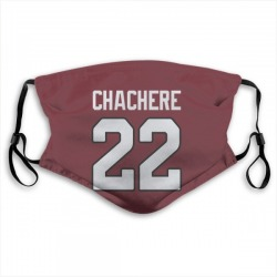 Andre Chachere Arizona Cardinals Reusable & Washable Face Mask