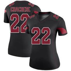 Andre Chachere Arizona Cardinals Women's Color Rush Legend Nike Jersey - Black