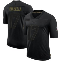 Andy Isabella Arizona Cardinals Men's Limited 2020 Salute To Service Nike Jersey - Black