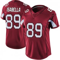 Andy Isabella Arizona Cardinals Women's Limited Vapor Team Color Untouchable Nike Jersey - Red