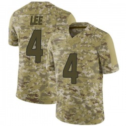 Andy Lee Arizona Cardinals Men's Limited 2018 Salute to Service Nike Jersey - Camo
