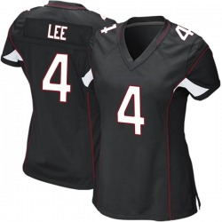 Andy Lee Arizona Cardinals Women's Game Alternate Nike Jersey - Black