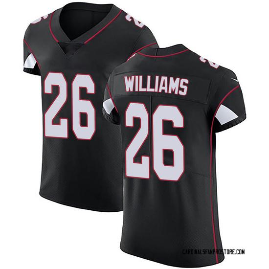 Brandon Williams Arizona Cardinals Men's Elite Alternate Vapor Untouchable Nike Jersey - Black