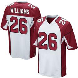 Brandon Williams Arizona Cardinals Men's Game Nike Jersey - White