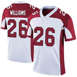 Brandon Williams Arizona Cardinals Men's Limited Vapor Untouchable Nike Jersey - White