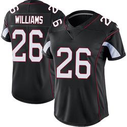 Brandon Williams Arizona Cardinals Women's Limited Vapor Untouchable Nike Jersey - Black
