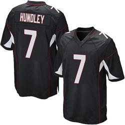 Brett Hundley Arizona Cardinals Men's Game Alternate Nike Jersey - Black