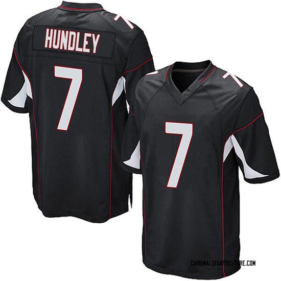 Brett Hundley Arizona Cardinals Youth Game Alternate Nike Jersey - Black