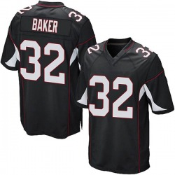 Budda Baker Arizona Cardinals Men's Game Alternate Nike Jersey - Black