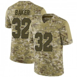 Budda Baker Arizona Cardinals Men's Limited 2018 Salute to Service Jersey - Camo