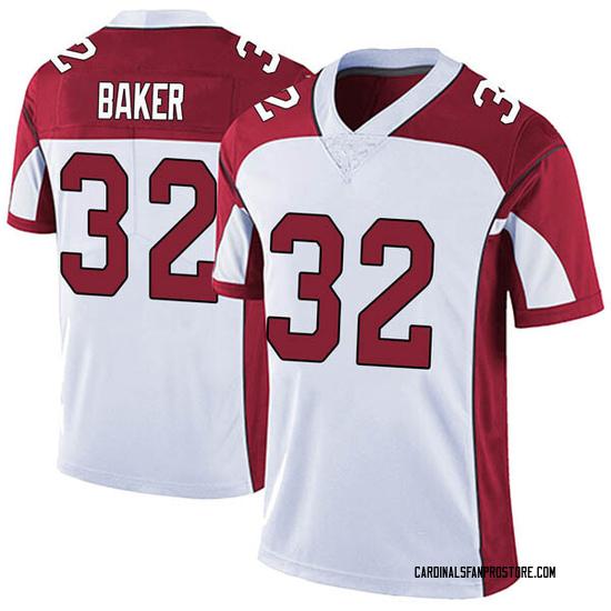 Budda Baker Arizona Cardinals Men's Limited Vapor Untouchable Nike Jersey - White