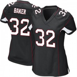 Budda Baker Arizona Cardinals Women's Game Alternate Nike Jersey - Black