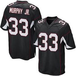 Byron Murphy Arizona Cardinals Men's Game Alternate Nike Jersey - Black