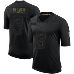 Carson Palmer Arizona Cardinals Men's Limited 2020 Salute To Service Nike Jersey - Black
