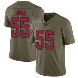 Chandler Jones Arizona Cardinals Men's Limited Salute to Service Nike Jersey - Green