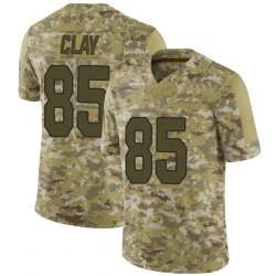 Charles Clay Arizona Cardinals Men's Limited 2018 Salute to Service Jersey - Camo