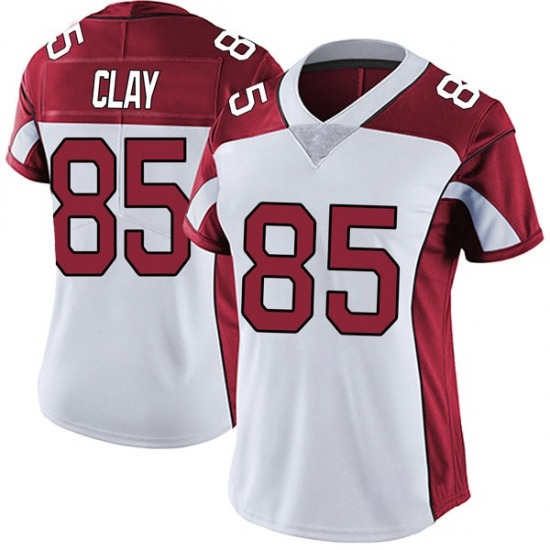 Charles Clay Arizona Cardinals Women's Limited Vapor Untouchable Nike Jersey - White