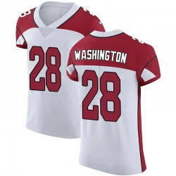Charles Washington Arizona Cardinals Men's Elite Vapor Untouchable Nike Jersey - White