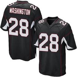 Charles Washington Arizona Cardinals Men's Game Alternate Nike Jersey - Black