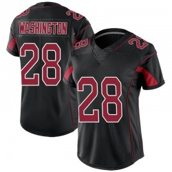 Charles Washington Arizona Cardinals Women's Limited Color Rush Nike Jersey - Black