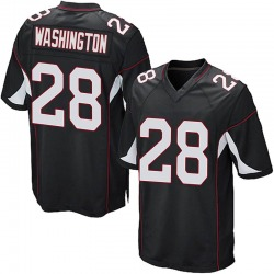 Charles Washington Arizona Cardinals Youth Game Alternate Nike Jersey - Black