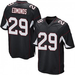 Chase Edmonds Arizona Cardinals Youth Game Alternate Nike Jersey - Black