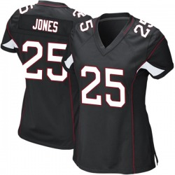 Chris Jones Arizona Cardinals Women's Game Alternate Nike Jersey - Black
