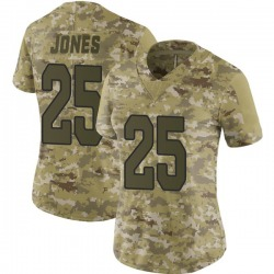 Chris Jones Arizona Cardinals Women's Limited 2018 Salute to Service Nike Jersey - Camo