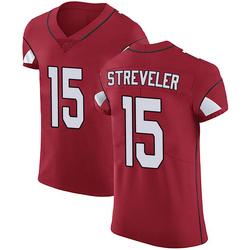 Chris Streveler Arizona Cardinals Men's Elite Team Color Vapor Untouchable Nike Jersey - Red