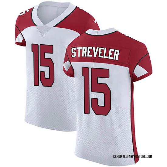 Chris Streveler Arizona Cardinals Men's Elite Vapor Untouchable Nike Jersey - White