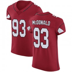 Clinton McDonald Arizona Cardinals Men's Elite Team Color Vapor Untouchable Nike Jersey - Red