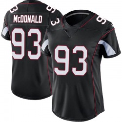 Clinton McDonald Arizona Cardinals Women's Limited Vapor Untouchable Nike Jersey - Black