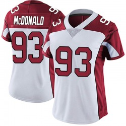 Clinton McDonald Arizona Cardinals Women's Limited Vapor Untouchable Nike Jersey - White