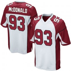 Clinton McDonald Arizona Cardinals Youth Game Nike Jersey - White