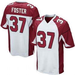 D.J. Foster Arizona Cardinals Men's Game Nike Jersey - White
