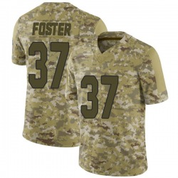 D.J. Foster Arizona Cardinals Men's Limited 2018 Salute to Service Nike Jersey - Camo