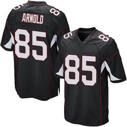Dan Arnold Arizona Cardinals Men's Game Alternate Nike Jersey - Black
