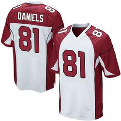 Darrell Daniels Arizona Cardinals Men's Game Nike Jersey - White
